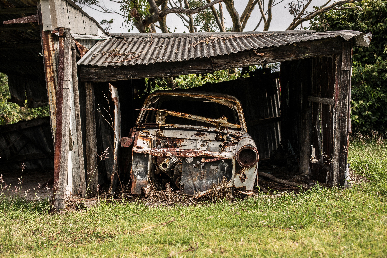старое авто